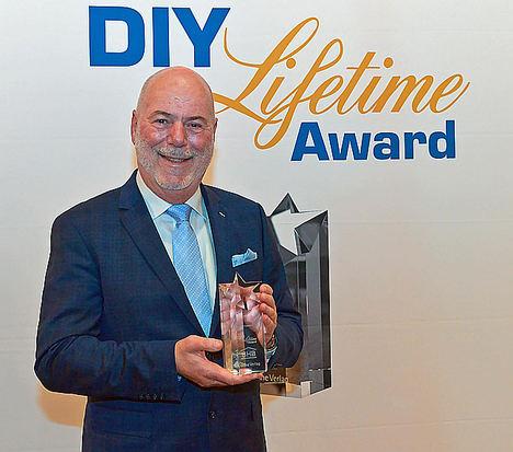 Ralf Meistes recibe el Premio DIY Lifetime 2019