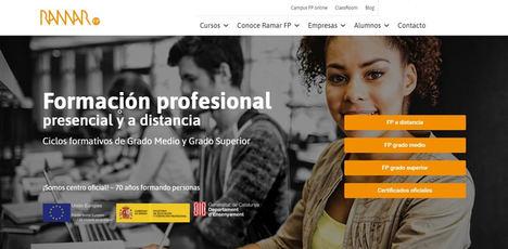 Ramar FP: ventajas de estudiar online para obtener un título oficial de Formación Profesional