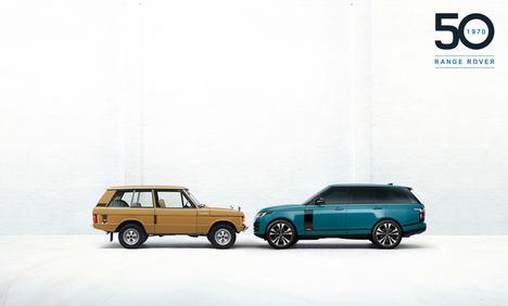 Range Rover 50 años de exclusividad e innovación