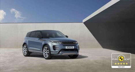 El nuevo Range Rover Evoque máxima puntuación de seguridad