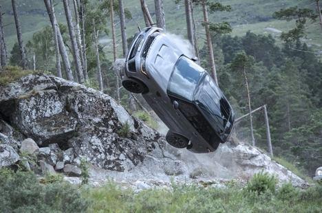 El Range Rover Sport SVR en la nueva película de James Bond