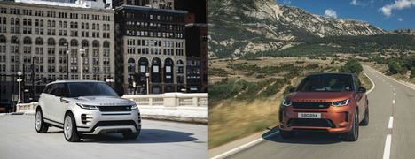 Ediciones especiales del Range Rover Evoque y Discovery Sport