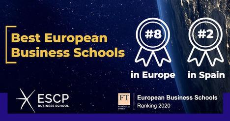 ESCP Business School en el puesto #8 en el ranking de European Business Schools del Financial Times