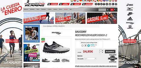 Estas son las tiendas más baratas en zapatillas de running