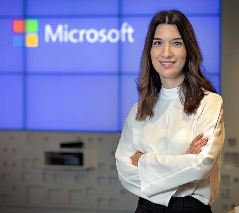 Rebeca Marciel, nueva directora de Grandes Empresas de Microsoft Ibérica