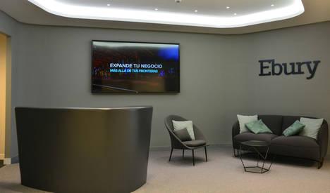 Ebury diseña y adapta su nueva sede en Madrid a los requerimientos funcionales del entorno fintech
