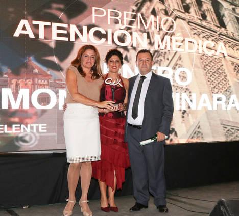 El Centro de Adicciones MonteAlminara recibe el Premio Andalucía Excelente 2016
