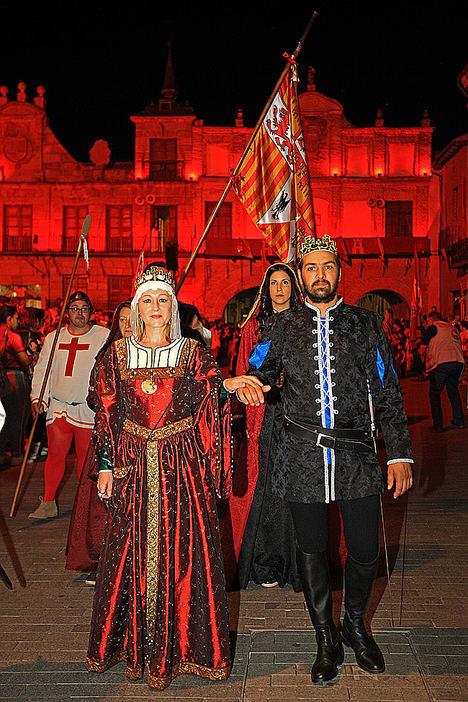 Recreación Histórica. Desfile Inaugural La Corte de los Reyes Católicos.