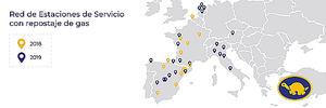 Red Tortuga irrumpe en el negocio del gas con 13 estaciones en Europa