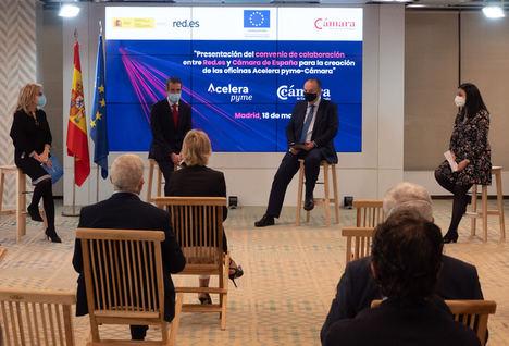 Red.es y la Cámara de España ponen en marcha 60 Oficinas Acelera pyme para impulsar la transformación digital de las empresas