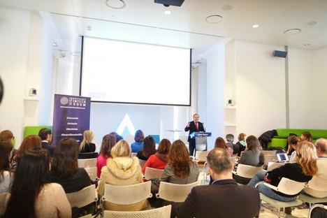 Redondo en el acto Mujeres en #FinTech.