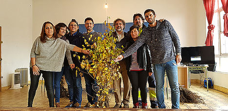 El bosque de As Neves resurgirá de las cenizas con 1.500 nuevos árboles plantados por voluntarios