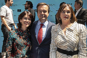 Relevo al frente de la pasarela Mercedes-Benz Fashion Week Madrid