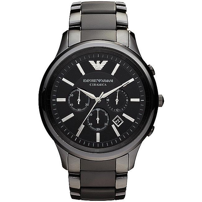 bb16d24d6601 Reloj Cronógrafo de cerámica color Negro.