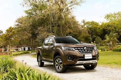 Renault Alaskan un pick-up de una tonelada