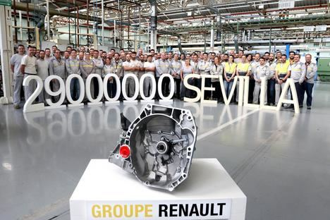 29 millones de cajas de velocidades en Renault Sevilla