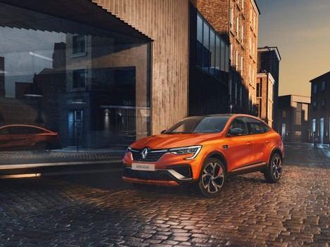 Lanzamiento en España del Renault Arkana híbrido