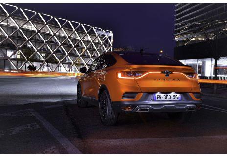 El Renault Arkana en tres meses modelo de moda