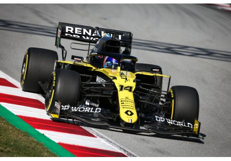 Alonso debuta con Renault DP World F1 Team