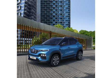 Renault Kiger, un SUV compacto para la India