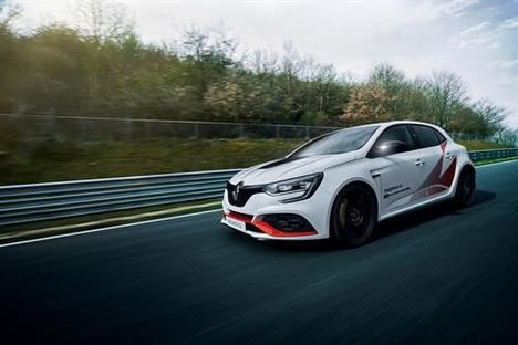 Récord en Nürburgring del nuevo Renault Mégane R.S. Trophy-R