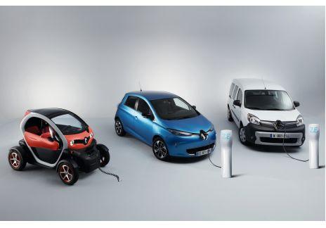 Renault expone su gama Z.E. en el VEM 2018