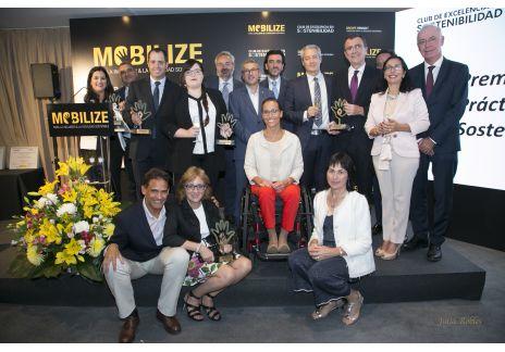 Renault entrega los VI Premios a la Mejor Práctica en Movilidad Sostenible y Accesible