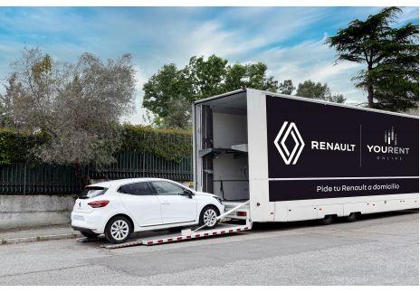 Renault realiza la primera venta on line con entrega a domicilio