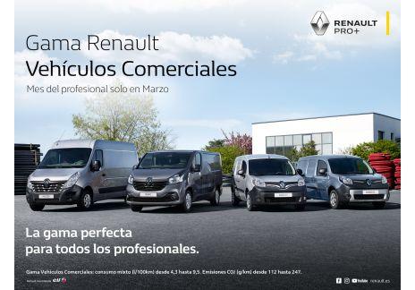 """Renault lanza el """"Mes del profesional"""""""