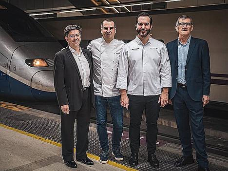 Renfe – SNCF en Cooperación, celebra su 5º aniversario con alta cocina de estrellas Michelin