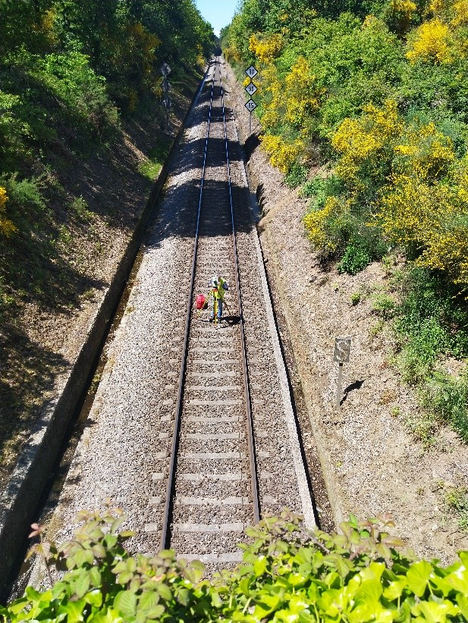 Adif adjudica por más de 30,3 M€ la renovación de vía del tramo Monforte de Lemos-Lugo
