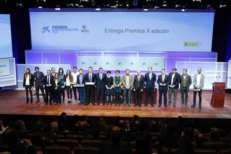 Avizorex Pharma, Geoblink, Waynabox, BioNostrum Pest Control y Proton, ganadores de los Premios Emprendedor XXI