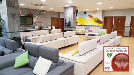 La residencia Rodríguez de Andoin V en Portugalete se convierte en un espacio cardioprotegido