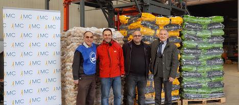 MC MUTUAL recoge más de 14 toneladas de alimentos en 72 centros propios y empresas mutualistas
