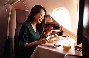 """Singapore Airlines transforma un A380 en un restaurante """"pop up"""""""