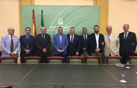 CLANER solicita al nuevo consejero de Empresa de Andalucía renovados impulsos a las renovables