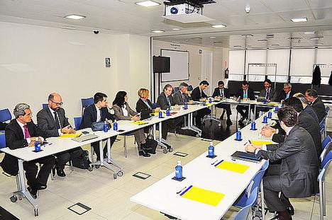 Puertos del Estado recibe a los representantes de la Plataforma de Inversores en Puertos Españoles (PIPE)