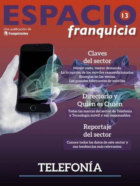 FranquiciasHoy.es presenta su revista 'Espacio Franquicia' especial Telefonía