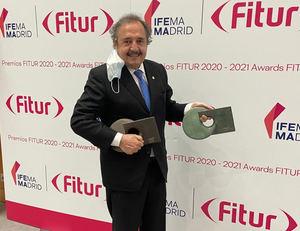 Ricardo Alfonsín, en representación del INPROTUR.