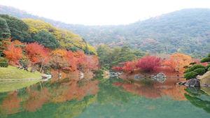 Ritsurin Park Takamatsu Kagawa Shikoku. ©JNTO