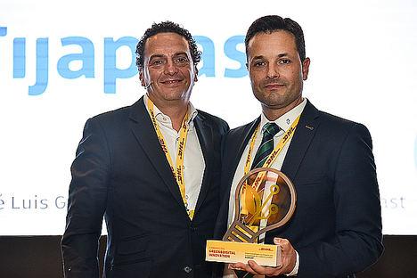 Roberto Pascual y José Luis Guarnido, DG Fijaplast.