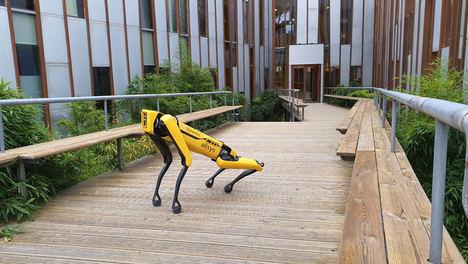 Presentan en el GREX20 a Spot, el robot cuadrúpedo más avanzado del mundo