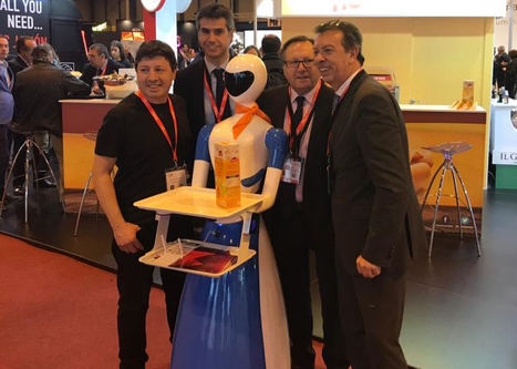 Robot camarero Lolita.