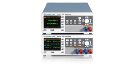 Nueva serie R&S NGA100 ofrece precisión lineal en la categoría de fuentes de alimentación básicas