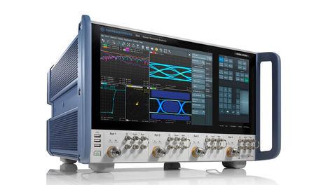 Rohde & Schwarz presenta los nuevos analizadores vectoriales de redes con rangos de frecuencia hasta 67 GHz