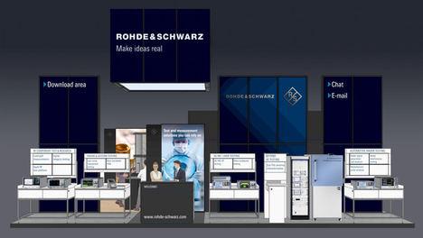 Rohde & Schwarz muestra soluciones fiables de test para aplicaciones del futuro que usan el rango de las microondas