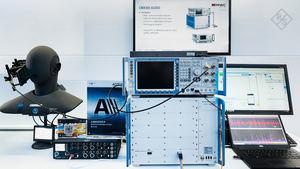Solución de test para el servicio de voz 5G VoNR presentado en el MWC en Shanghái.