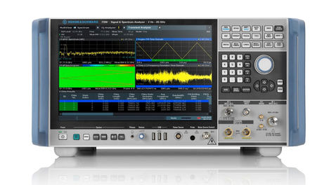 Rohde&Schwarz actualiza su analizador de señal y espectro R&S FSW al ancho de banda de análisis interno de 8,3 GHz