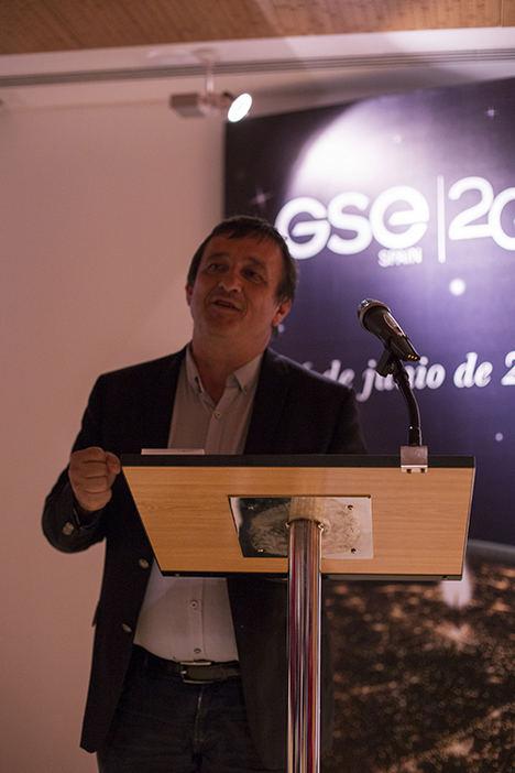 Roland Paul (CEO de GSE), durante el acto.