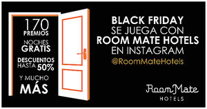 El Black Friday de Room Mate Hotels se juega en Instagram